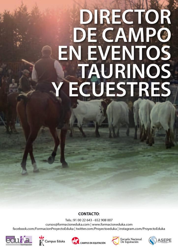 Directores de Campo en Eventos Taurinos y Ecuestres